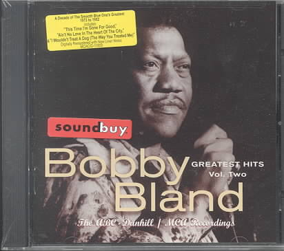 BOBBY BLAND GREATEST HITS 2 BY BLAND,BOBBY 'BLUE' (CD)